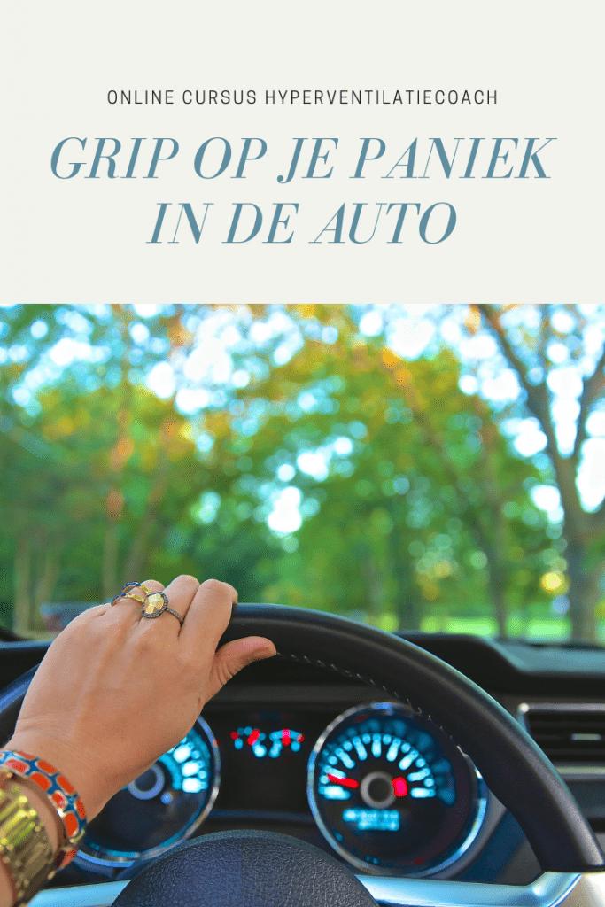 angst en paniek in de auto