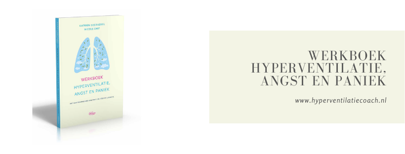 werkboek hyperventilatie, angst en paniek Nicole Smit