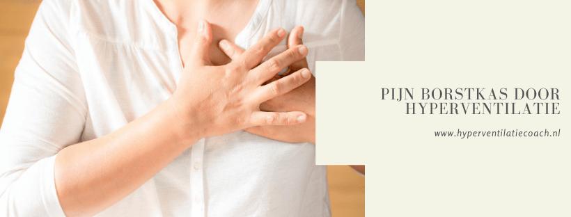 pijn borstkas chronische hyperventilatie