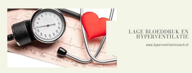 lage bloeddruk en hyperventilatie